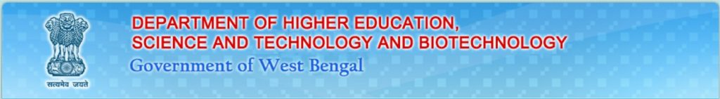 Department of Higher Education, Science and Technology and Biotechnology, Government of West Bengal